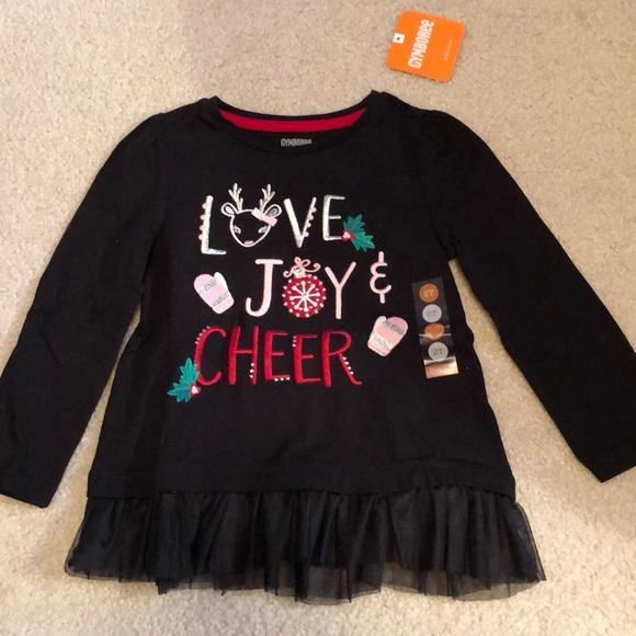 NWT Gymboree Long Sleeve Baby Girl Top Tee Shirt Cotton Girls NEW